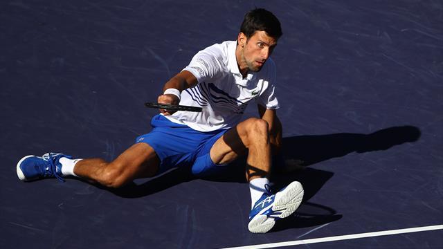 Indian Wells 2019, Djokovic-Kohlschreiber: Muerde el polvo y abre la puerta a Nadal (4-6 y 4-6)