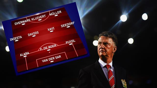 Da Iniesta a Seedorf: la Top 11 dei talenti lanciati da Louis van Gaal