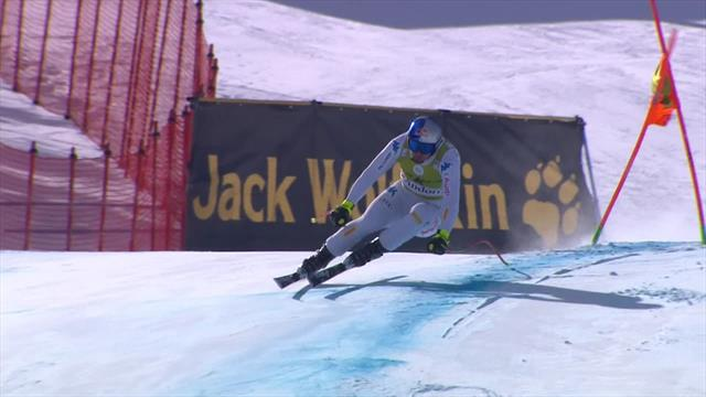 Paris clinches victory in Downhill