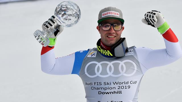 Feuz, Schmidhofer wrap up World Cup downhill titles