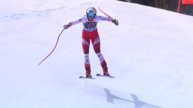 'Huge surprise!' - Puchner wins Downhill by 0.03secs from Rebensburg