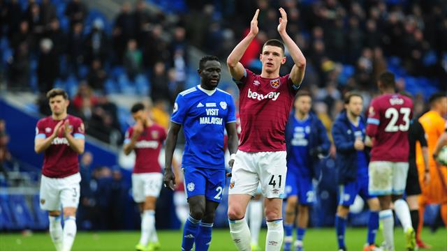 England's Gareth Southgate on squad selection and Declan Rice