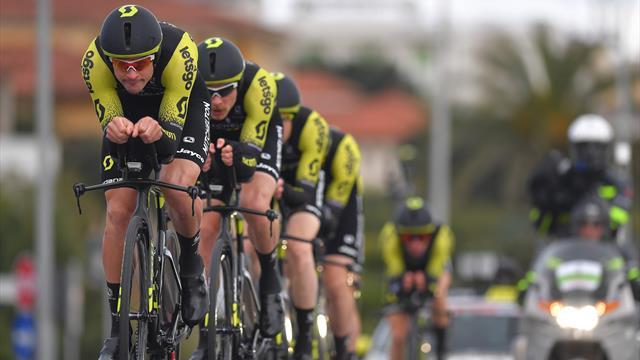 Tirreno - Adriatico: Mitchelton-Scott gewinnt das Mannschaftszeitfahren