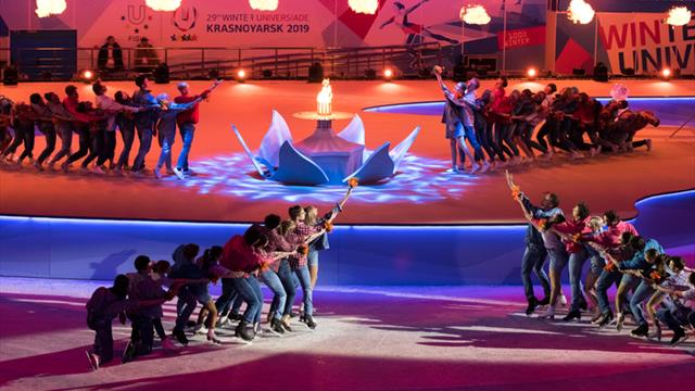Spectacular closing ceremony and fond farewells signals end to successful FISU Winter Universiade
