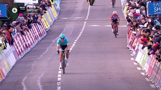 Huge final push sees Cort Nielsen seal Stage 4 breakaway win