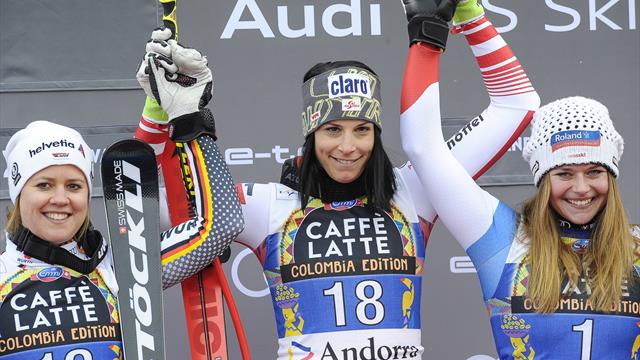 Puchner records narrow win for second ever World Cup triumph