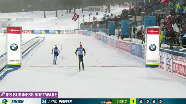 Peiffer läuft zur Gold: Highlights eines makellosen Rennens