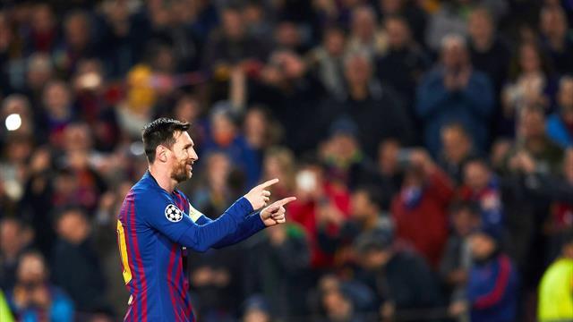 """Le pagelle di Barcellona-Lione 5-1: Messi un alieno, Arthur """"architetto""""; disastro Denayer"""
