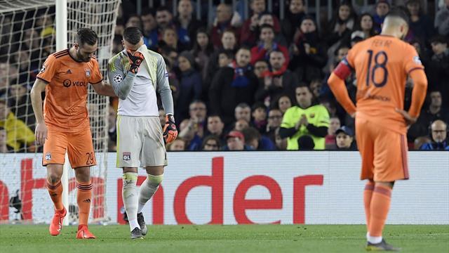 En larmes, Lopes a quitté ses partenaires après un choc avec Coutinho