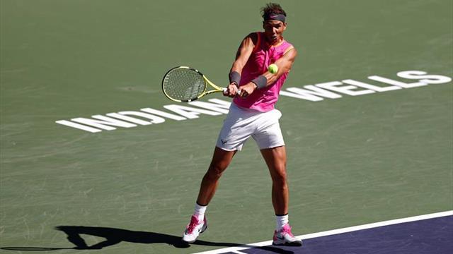 Rafael Nadal, a cuartos de final de Indian Wells