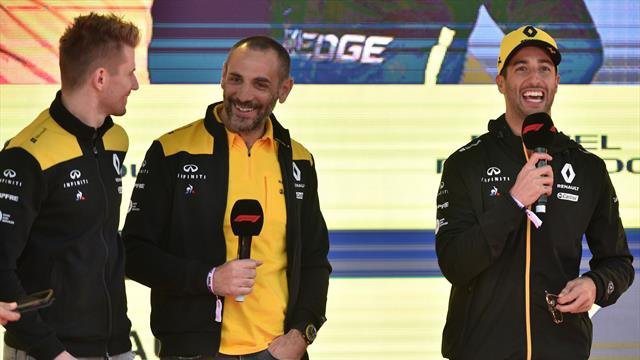 Bold strategy made Renault's pace look 'miserable'