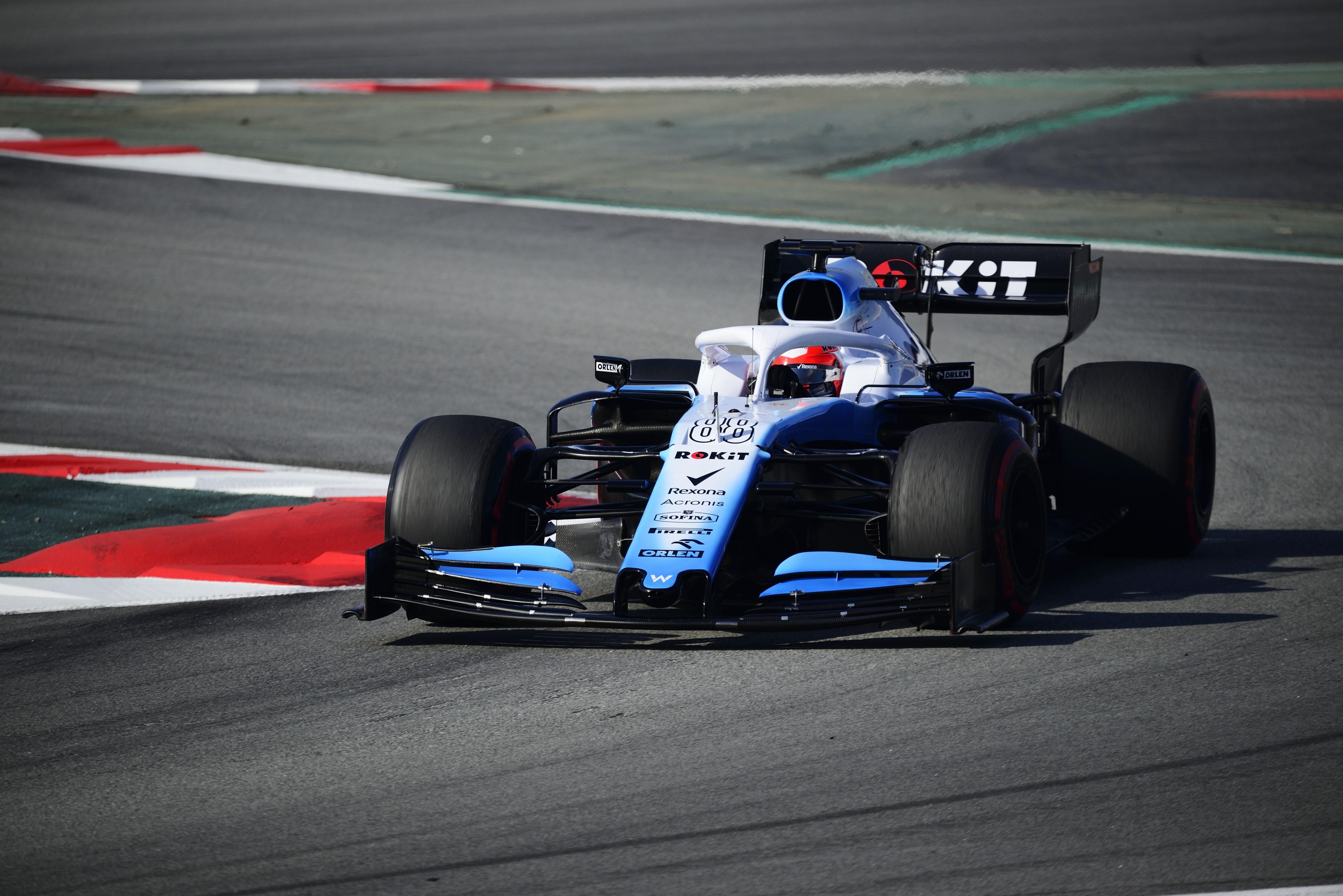 Robert Kubica (Williams) - Tests 2 Montmelo 2019