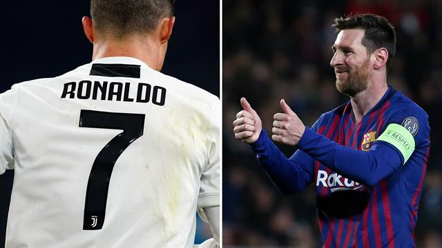 Messi hails Ronaldo's 'magical night'
