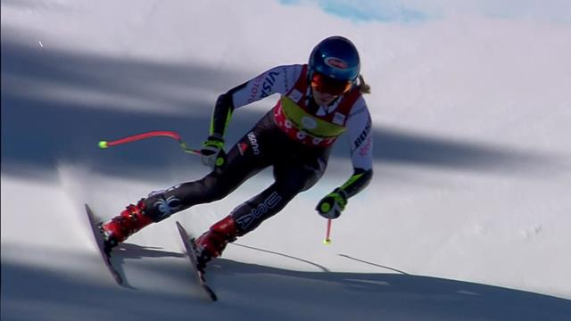 'She's done it again!' - Shiffrin clinches Super-G Crystal Globe