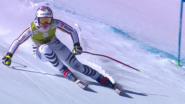 Rebensburg takes victory in Super-G