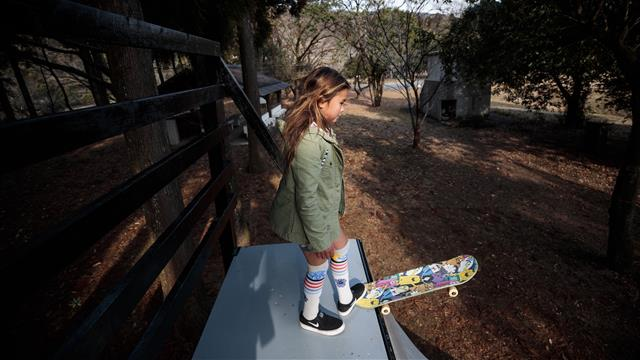 Sky Brown: The 10-year-old skateboarder hoping to make Tokyo 2020