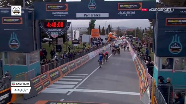 Tirreno-Adriatico | Alaphillipe wint sprint in etappe twee