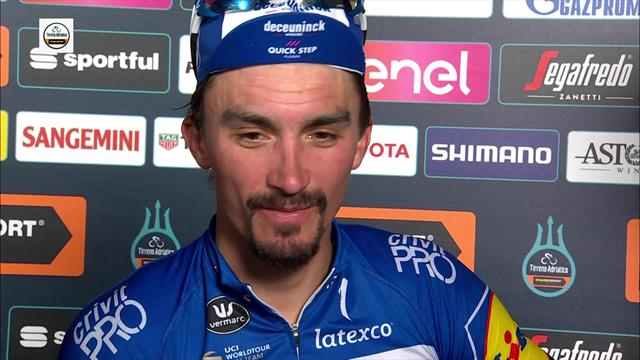 Alaphilippe reflects on 'perfect' job from his team