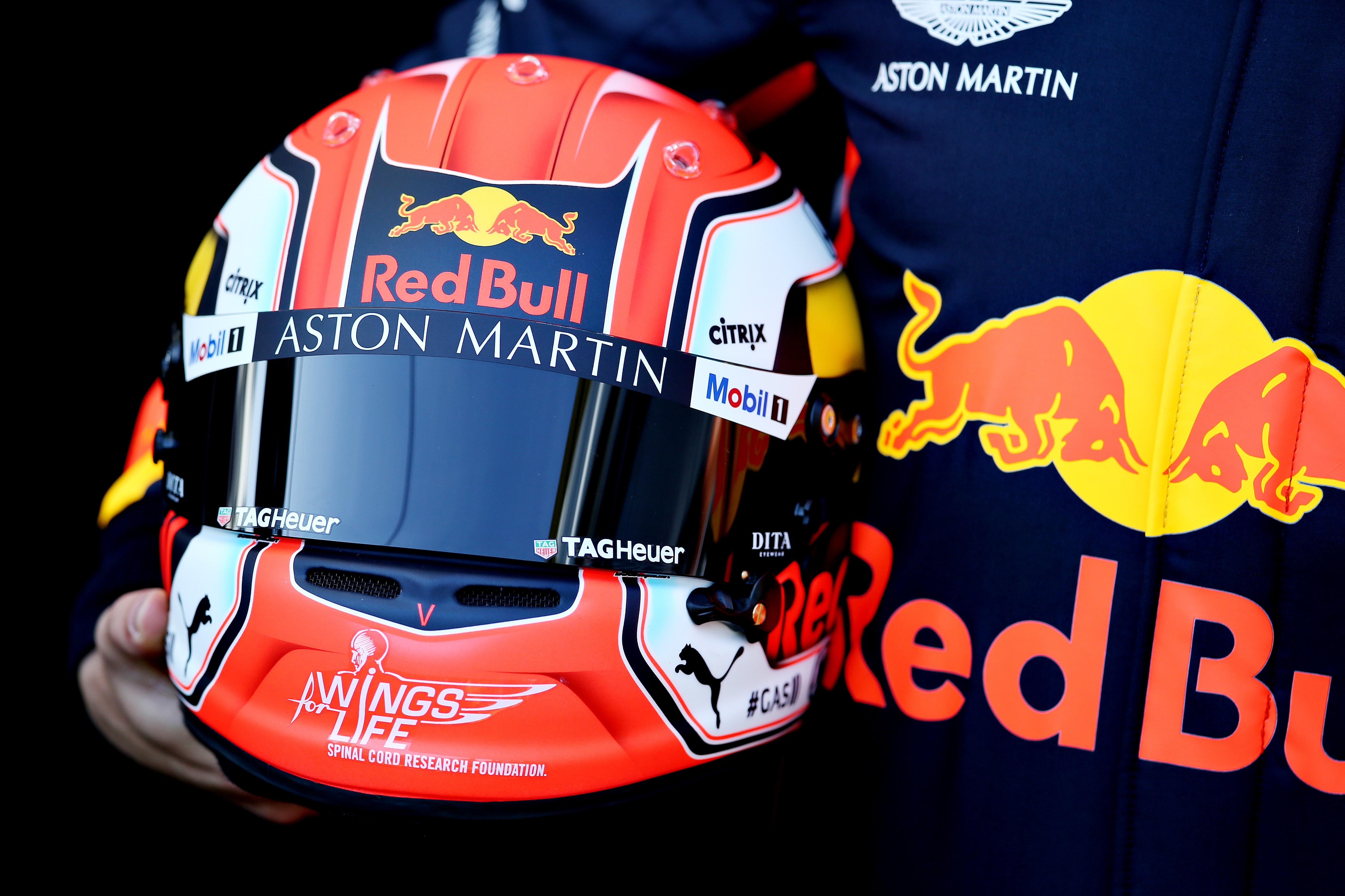 Pierre Gasly (Red Bull) au Grand Prix d'Australie 2019
