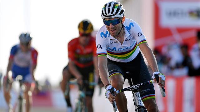 """Alejandro Valverde, en Eurosport: """"Estoy animado, vuelvo en Catalunya y veremos la Milán-San Remo"""""""