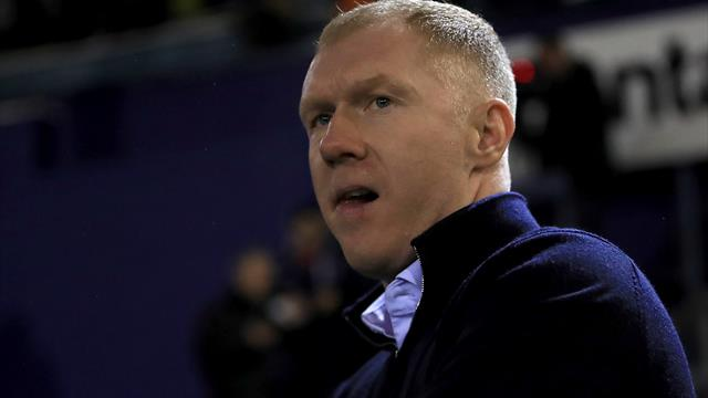Paul Scholes resigns as Oldham manager after 31 days in charge