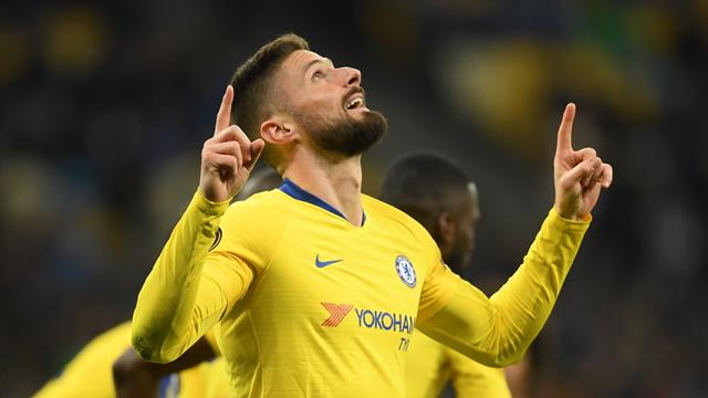 'Giroud is French for Ronaldo!' - Chelsea forward reigns as King of Thursday nights