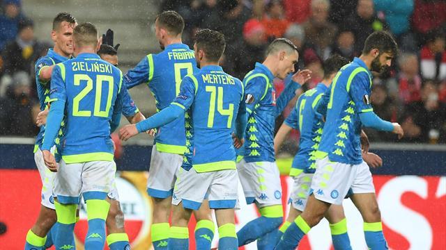 Napoli sconfitto ma ai quarti di Europa League: il Salisburgo si impone per 3-1