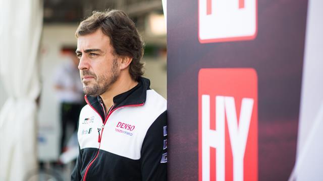 """Alonso se muestra optimista: """"Confío en que podamos ganar aquí en Sebring"""" (Viernes 20:45 E1)"""
