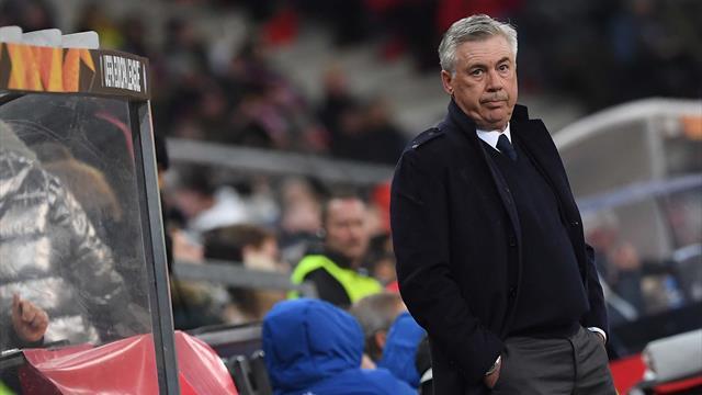 """Ancelotti: """"Il gol di Milik ha chiuso il discorso. Ripresa sofferta? I giocatori sono esseri umani"""""""