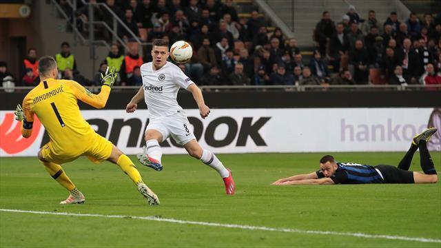 Le pagelle di Inter-Eintracht Francoforte 0-1: brilla Jovic, super Handanovic, malissimo Perisic