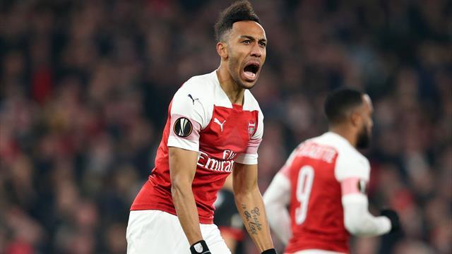 Arsenal verhindert Blamage dank Aubameyang, Chelsea düpiert Kiew