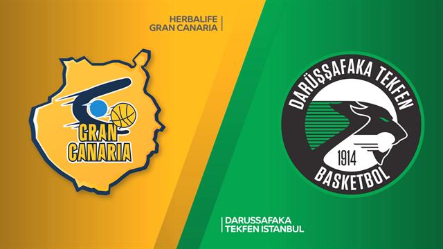 Highlights: Herbalife Gran Canaria-Darussafaka Tekfen 84-64