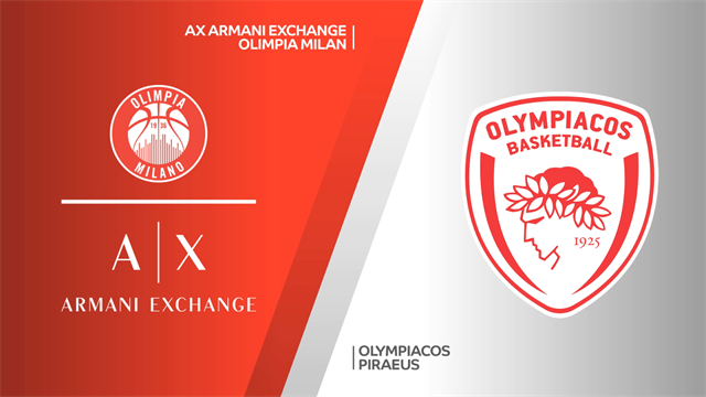 Highlights: AX Armani Exchange Milano-Olympiacos Pireo 66-57