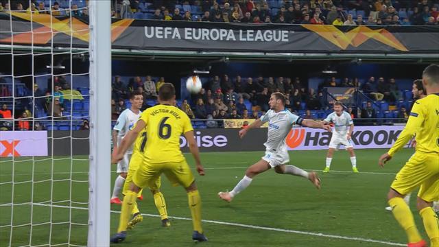 Höjdpunkter : Villarreal - Zenit