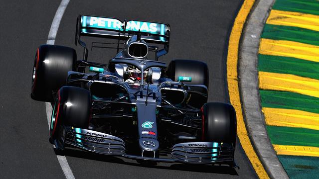 Hamilton est devant mais il sent le souffle de Vettel et Leclerc