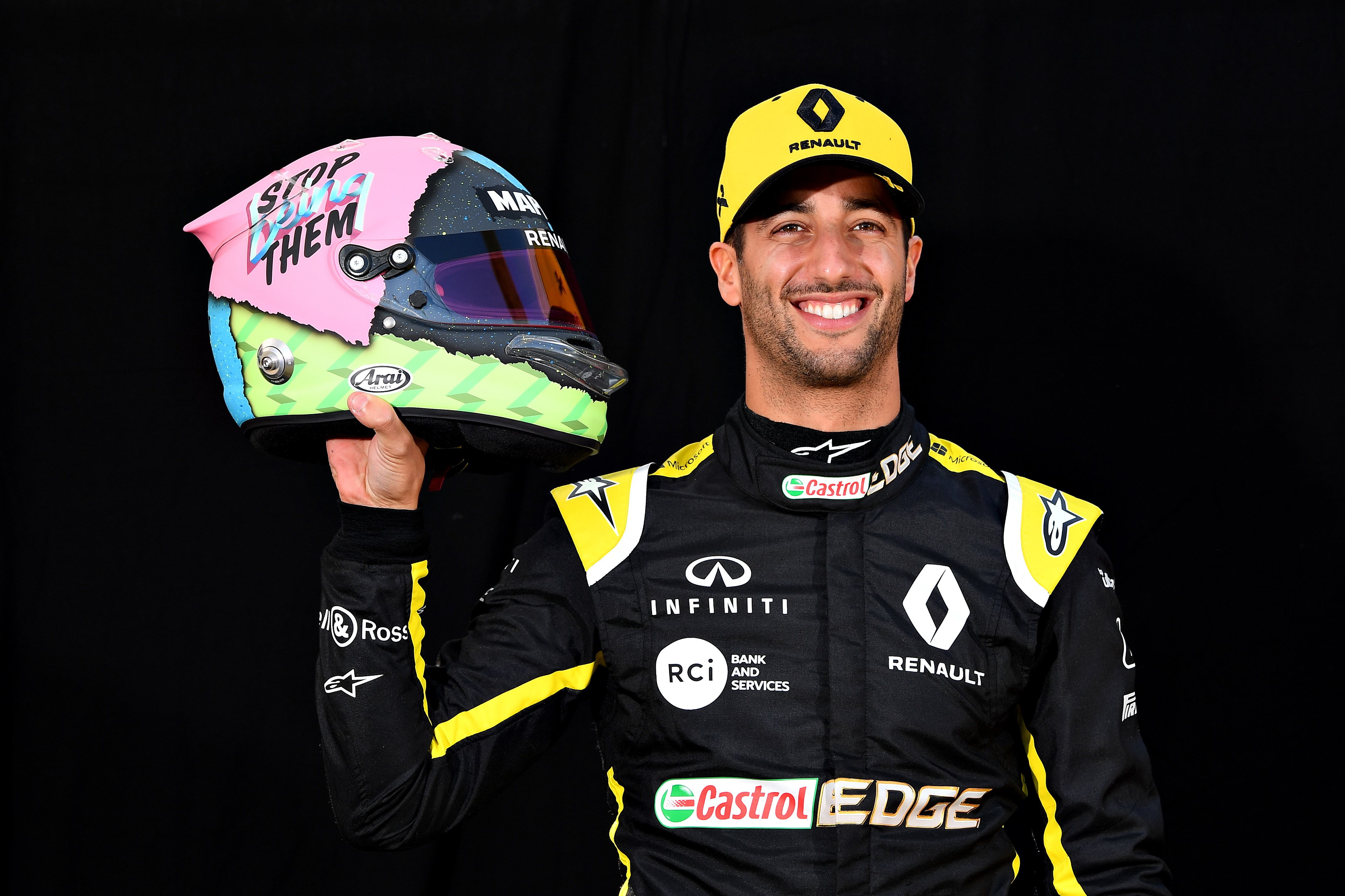 Daniel Ricciardo (Renault) au Grand Prix d'Australie 2019
