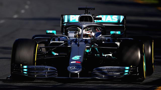 Les Mercedes dans un autre monde