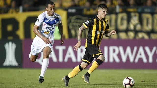 4-0. El Peñarol hunde al San José y alcanza el segundo lugar de su grupo