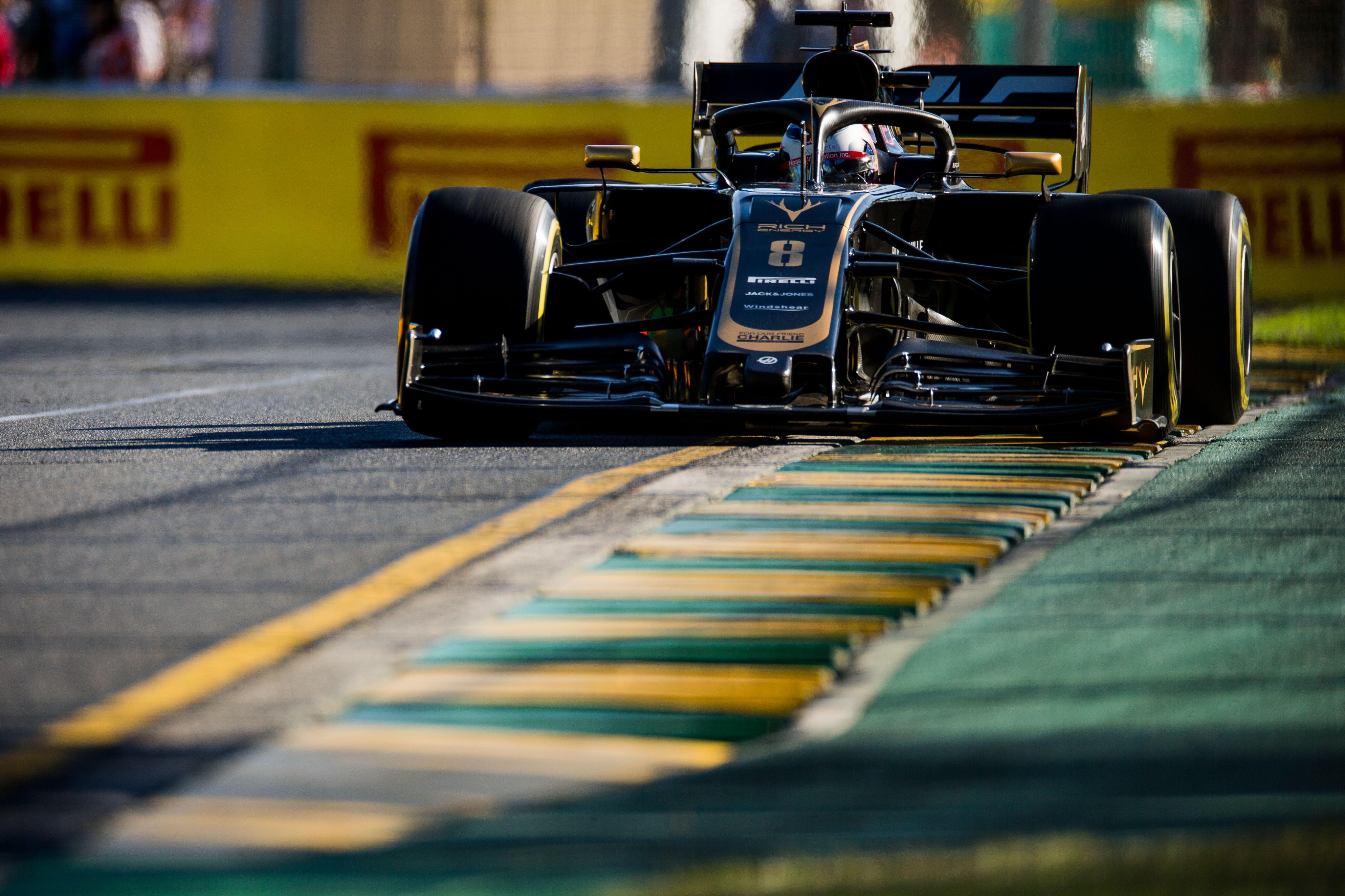 Romain Grosjean (Haas) au Grand Prix d'Australie 2019