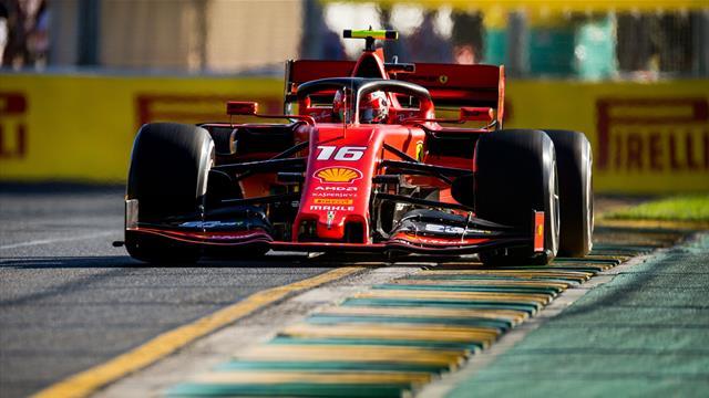 Leclerc (Ferrari) le plus rapide en Q1, Gasly (Red Bull) éliminé