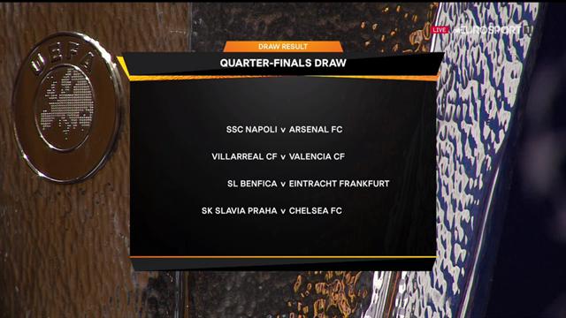 Europa League | Kwartfinales bekend