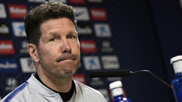 """Simeone, confiado: """"Creemos que Griezmann seguirá, no tengo ningún temor"""""""
