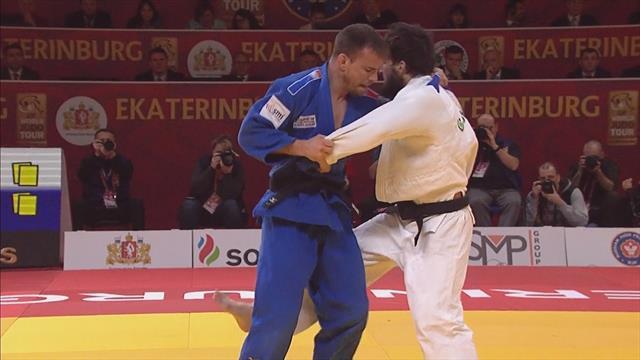 Le Blouch wins men's 66 kg gold medal