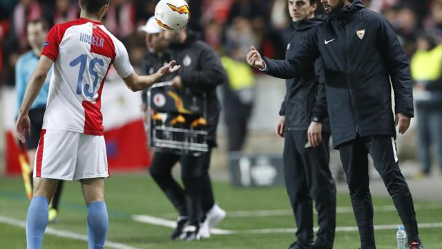 Machin sacked by Sevilla after Europa League exit
