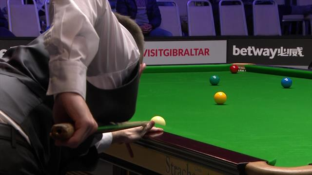 O'Sullivan sinks ultimate fluke to beat Perry in Gibraltar
