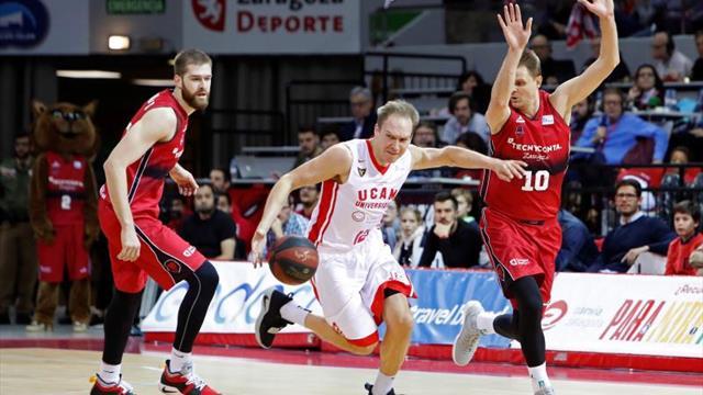 El UCAM tiene en el Zaragoza a su rival más propicio en Murcia (7-1)