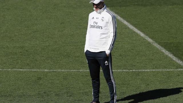 Zidane admirado, pero no sorprendido por Crisitano