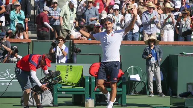 Indian Wells 2019, Hurkacz-Federer: Trabajo hecho a la espera de Nadal (4-6 y 4-6)
