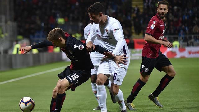 Le pagelle di Cagliari-Fiorentina 2-1: i giovanissimi Barella e Chiesa danno l'esempio