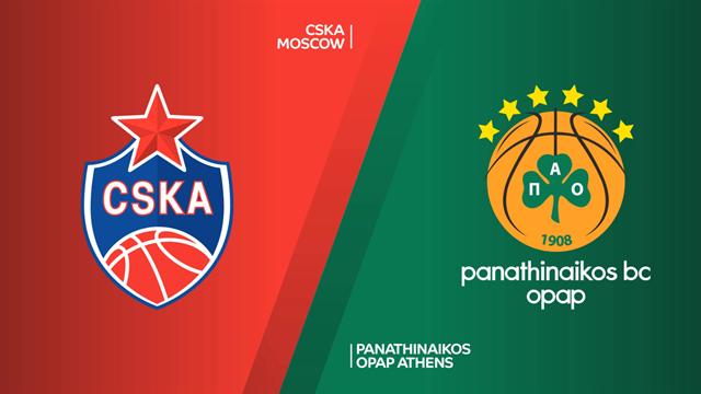 Highlights: CSKA Mosca-Panathinaikos OPAP 77-78